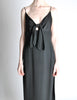 Galanos Vintage Black Knot Bust Dress - Amarcord Vintage Fashion  - 7