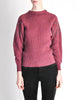 Versace Vintage Purple Sweater with Studded Sleeves - Amarcord Vintage Fashion  - 5