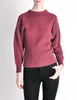 Versace Vintage Purple Sweater with Studded Sleeves - Amarcord Vintage Fashion  - 2