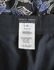 Armani Vintage Black Silk Floral High Waist Pants - Amarcord Vintage Fashion  - 6