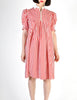 Giorgio Sant'Angelo Vintage Red & White Striped Dress - Amarcord Vintage Fashion  - 2
