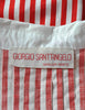 Giorgio Sant'Angelo Vintage Red & White Striped Dress - Amarcord Vintage Fashion  - 9