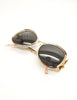 Givenchy Vintage 1970s Brown & Gold 'Panache' Sunglasses - Amarcord Vintage Fashion  - 8