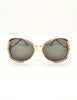 Givenchy Vintage 1970s Brown & Gold 'Panache' Sunglasses - Amarcord Vintage Fashion  - 2