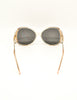 Givenchy Vintage 1970s Brown & Gold 'Panache' Sunglasses - Amarcord Vintage Fashion  - 9
