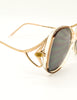 Givenchy Vintage 1970s Brown & Gold 'Panache' Sunglasses - Amarcord Vintage Fashion  - 6