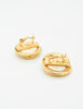 Givenchy Vintage Gold Snake Pearl Earrings - Amarcord Vintage Fashion  - 6