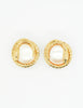 Givenchy Vintage Gold Snake Pearl Earrings - Amarcord Vintage Fashion  - 5