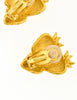 Givenchy Vintage Gold Strawberry Earrings - Amarcord Vintage Fashion  - 6
