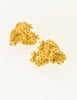 Givenchy Vintage Gold Strawberry Earrings - Amarcord Vintage Fashion  - 3