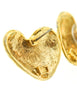 Givenchy Vintage Gold Namesake Heart Earrings - Amarcord Vintage Fashion  - 6