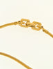 Givenchy Vintage Triangle Inlay Gold Necklace - Amarcord Vintage Fashion  - 6