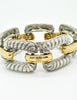 Givenchy Vintage Two Tone Twisted Rope Bracelet - Amarcord Vintage Fashion  - 4