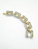 Givenchy Vintage Two Tone Twisted Rope Bracelet - Amarcord Vintage Fashion  - 6