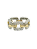 Givenchy Vintage Two Tone Twisted Rope Bracelet - Amarcord Vintage Fashion  - 1