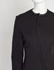Gucci Vintage 1999 Tom Ford Era Black Neoprene Scuba Jacket