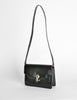 Gucci Vintage 1970s Black Lizard Skin Clutch Bag - Amarcord Vintage Fashion  - 4