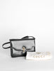 Gucci Vintage 1970s Black Lizard Skin Clutch Bag - Amarcord Vintage Fashion  - 7