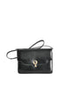 Gucci Vintage 1970s Black Lizard Skin Clutch Bag - Amarcord Vintage Fashion  - 1