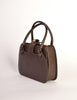 Gucci Vintage 1960s Brown Leather Structured Turn Lock Handbag - Amarcord Vintage Fashion  - 4