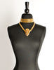 Gucci Vintage Gold Crest Chain Necklace Belt - Amarcord Vintage Fashion  - 6