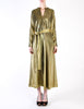 Halston Vintage Metallic Gold Maxi Dress - Amarcord Vintage Fashion  - 3