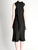 Hermès Vintage Black Silk Crepe Layered Bias Dress - Amarcord Vintage Fashion  - 9