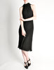 Hermès Vintage Black Silk Crepe Layered Bias Dress - Amarcord Vintage Fashion  - 3