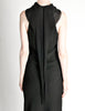 Hermès Vintage Black Silk Crepe Layered Bias Dress - Amarcord Vintage Fashion  - 8