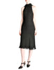 Hermès Vintage Black Silk Crepe Layered Bias Dress - Amarcord Vintage Fashion  - 1