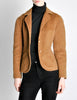 Hermès Vintage Caramel Brown Cashmere Riding Jacket - Amarcord Vintage Fashion  - 5