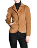 Hermès Vintage Caramel Brown Cashmere Riding Jacket - Amarcord Vintage Fashion  - 1