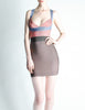Herve Leger Bandage Body Con Dress - Amarcord Vintage Fashion  - 3