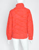 Issey Miyake Vintage Red Pink Orange Turtleneck Sweater