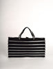 Issey Miyake Vintage Black & Silver Felt Accordion Pleated Bag - Amarcord Vintage Fashion  - 2