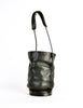 Issey Miyake Vintage Black Leather Bucket Bag - Amarcord Vintage Fashion  - 2