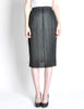 Issey Miyake Pleats Please Vintage Black Pleated Skirt - Amarcord Vintage Fashion  - 3