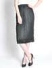 Issey Miyake Pleats Please Vintage Black Pleated Skirt - Amarcord Vintage Fashion  - 2