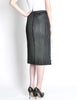 Issey Miyake Pleats Please Vintage Black Pleated Skirt - Amarcord Vintage Fashion  - 6