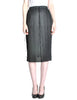 Issey Miyake Pleats Please Vintage Black Pleated Skirt - Amarcord Vintage Fashion  - 1