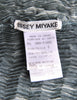 Issey Miyake Vintage Acid Wash Zig Zag Pleated Tank Top - Amarcord Vintage Fashion  - 6