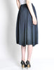 Issey Miyake Pleats Please Deep Blue Pleated Skirt - Amarcord Vintage Fashion  - 6