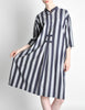 Issey Miyake Plantation Vintage Striped Dress - Amarcord Vintage Fashion  - 2