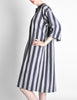Issey Miyake Plantation Vintage Striped Dress - Amarcord Vintage Fashion  - 4