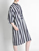 Issey Miyake Plantation Vintage Striped Dress - Amarcord Vintage Fashion  - 3