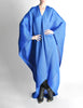 Issey Miyake Pleats Please Vintage Blue Pleated Multi-Functional Wrap Cape - Amarcord Vintage Fashion  - 10
