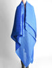 Issey Miyake Pleats Please Vintage Blue Pleated Multi-Functional Wrap Cape - Amarcord Vintage Fashion  - 9