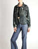 Issey Miyake Vintage Blue & Green Wash Jacket - Amarcord Vintage Fashion  - 4