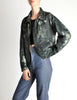 Issey Miyake Vintage Blue & Green Wash Jacket - Amarcord Vintage Fashion  - 5