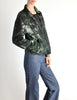 Issey Miyake Vintage Blue & Green Wash Jacket - Amarcord Vintage Fashion  - 6